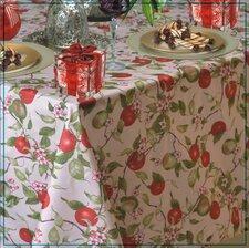 European Orchards Fruits Vintage Design Printed Tablecloth
