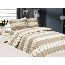 French Plaid Luxurious Duvet Set