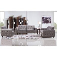Benji Sofa, Loveseat & Chair Set