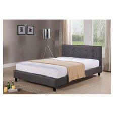 Hudson Queen Upholstered Panel Bed