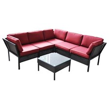 Del Mar 2 Piece Seating Group with Cushions