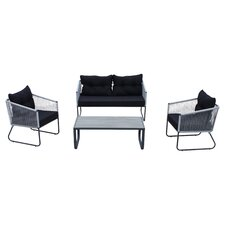 Coronado 4 Piece Seating Group with Cushions