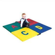 A,B,C,D Floor Mat