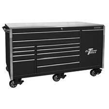 """Professional 76""""W 12-Drawer Tool Chest"""