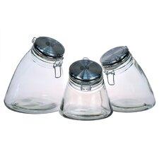 Slope 3 Piece Jar Set