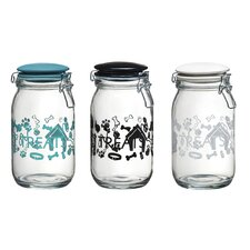 Pet Lifestyle 50-Quart Milan Hermetic Preserving Jar