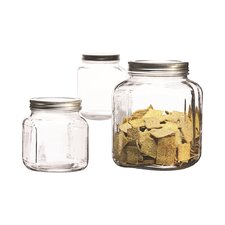 3 Piece Cracker Jar Set