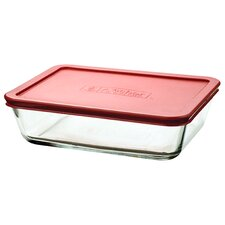 6-Cup Rectangular Kitchen Storage Container (Set of 4)
