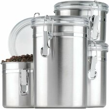 4 Piece Storage Canister Set