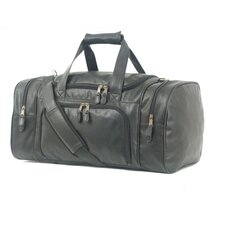 """Highland II Series 21"""" Leather Carry-On Duffel"""