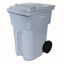 Consumables 95-Gal HSM Curbside Recycling Bin