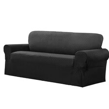 Conrad Stretch Sofa Box Cushion Slipcover