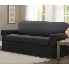 Conrad Stretch 2 Piece Sofa Slipcover Set