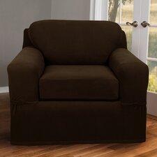 Pixel Stretch 2 Piece Chair Box Cushion Slipcover
