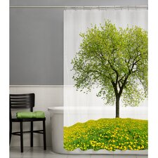 Seasons PEVA Shower Curtain