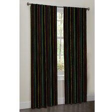 Raimee Synthetic Rod Pocket Curtain Panel Pair