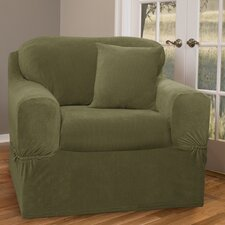 Collin Stretch Separate Seat Armchair Slipcover