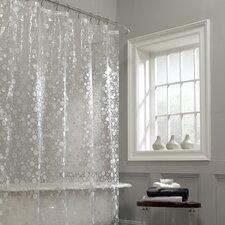 Ice Circles Vinyl Shower Curtain