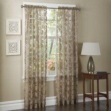 Pamela Rayon Rod Pocket Single Curtain Panel