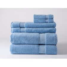 Luxury 6 Piece Towel Set