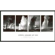 'Old Faithful' by Ansel Adams Framed Photographic Print