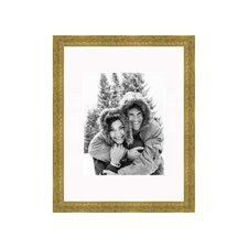 "8"" x 10"" Thin Frame in Soft Gold"