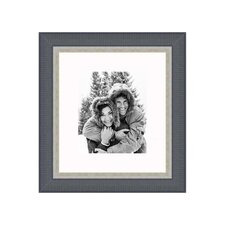 """20"""" x 24"""" Traditional Frame in Black with Silver Lip"""