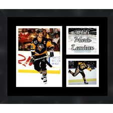 Pittsburgh Penguins Mario Lemieux 66 Photo Collage Framed Photographic Print
