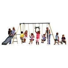 Backyard Fun Swing Set