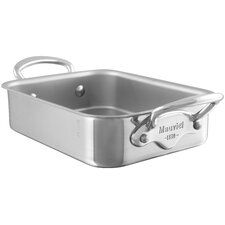 "M'Mini 7.1"" Copper Rectangular Roasting Pan"