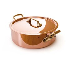 M'heritage Saute Pan with Lid