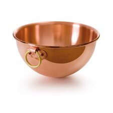 M'passion Small Copper Mixing Bowl with Bronze Ring Handle