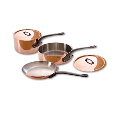 M'Heritage Copper 5-Piece Cookware Set