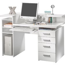 Computertisch Function Plus mit Tastaturauszug