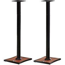 Gemini series Adjustable Bookshelf Speaker Stand (Set of 2)