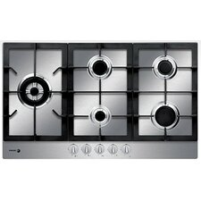 "33.86"" Gas Cooktop with 5 Burners"