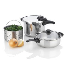 Innova 5 Piece Pressure Cooker Set