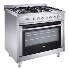 3.7 Cu. Ft. Dual Fuel Convection Range