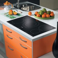 "36.94"" Electric Cooktop with 5 Burners"