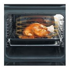 """24"""" Electric Single Wall Oven in Silver"""