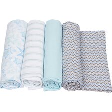 4 Piece Swaddle Blanket Set