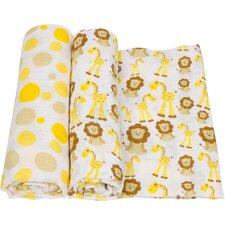 Animal Swaddle Blanket (Set of 2)