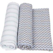2 Piece Swaddle Blanket Set