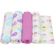 4 Piece Swaddle Blanket Set