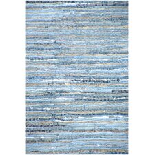 Denim Flatweave Area Rug