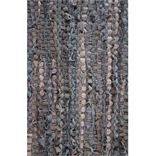 Brown Flatweave Area Rug