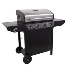 Thermos 4 Burner Gas Grill with Side Burner