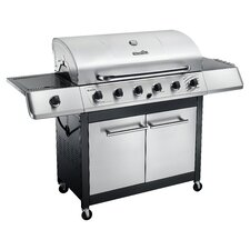 Classic 6 Burner 65,000 BTU Gas Grill with Side Burner