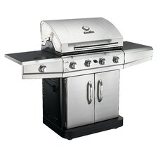 Classic 4 Burner Gas Grill with Side Burner