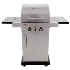 Professional Gas Grill with Cabinet